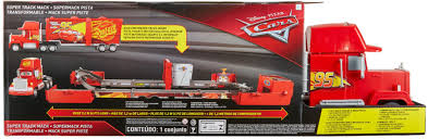 Disney Pixar Cars Super Track Mack Playset Red FPK72 - Best Buy