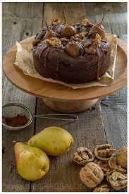 rezept versunkene bratbirne im schokoladen kuchen mit