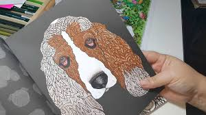 Detailed Dogs Coloring Book Review