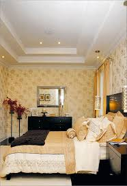 DecorationsDelightful White Gypsum As Materials Of Bedroom Try Ceiling Designs In Modern Master Bed