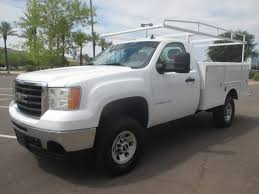 100 2009 Gmc Truck USED GMC SIERRA 3500HD SERVICE UTILITY TRUCK FOR SALE IN AZ 2227