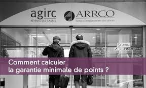 retraite arrco cadre ta la garantie minimale de points ou gmp
