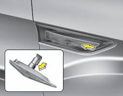 kia soul side repeater light bulb type a replacement light