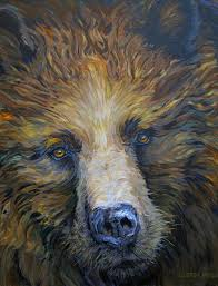 Mother Bear 2010 Acrylic 30x36