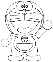 Free Coloring Page Doraemon Within Printable Pages