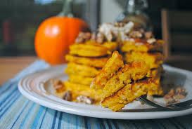 Vegan Bisquick Pumpkin Pancakes by Pumpkin Pancakes With Maple Cream And Candied Vanilla Pecans