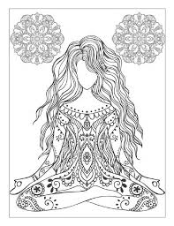 Gallery Of Various Yoga And Meditation Coloring Book For Adults With Poses Mandalas HD Images 2017 2018