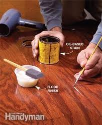 Restaining Wood Floors Without Sanding by Refinish Hardwood Floors In One Day Family Handyman