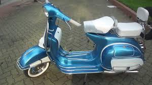 Vintage Vespa VBC Super 150cc In Blue White