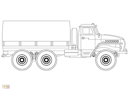 100 Truck Color Pages Top Delivery Ing Vector Images Free Vector Art