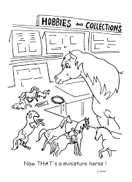 Pony And Models Coloring Pages