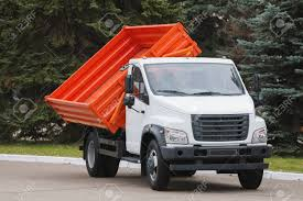 100 Small Dump Trucks Truck With Red Body Stock Photo Picture And Royalty Free