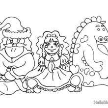 Big Christmas Present Gifts Coloring Page