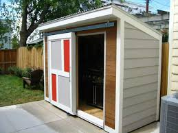 Small Backyard With Modern Shed - Useful Outdoor Modern Shed ... Garage Small Outdoor Shed Ideas Storage Design Carports Metal Sheds Used Backyards Impressive Backyard Pool House Garden Office Image With Charming Modern Useful Shop At Lowescom Entrancing Landscape For Makeovers 5 Easy Budgetfriendly Traformations Bob Vila Houston Home Decoration Best 25 Lean To Shed Kits Ideas On Pinterest Storage Office Studio Youtube