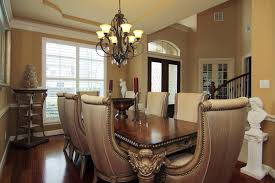 Formal Dining Room Sets Is Good Dinette Table Solid Wood Leather Chairs Large Round