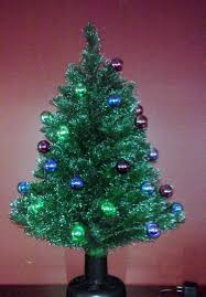 Tabletop Christmas Tree Vintage Rotating By FingerLakesFinds