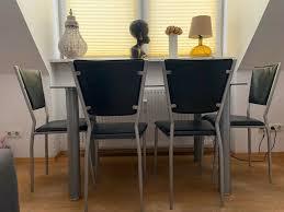 dodenhof esstisch in schwarz aus glas sehr hochwertig