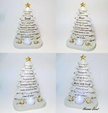Christmas Tree Grave Memorial Ornament For Mum Dad Friend Nan Grandad Grandma