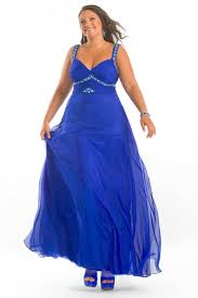 four popular styles of plus size formal dresses