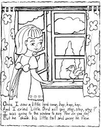Free Nursery Rhymes Coloring Pages