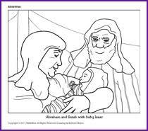 Abraham And Sarah With Baby Isaac