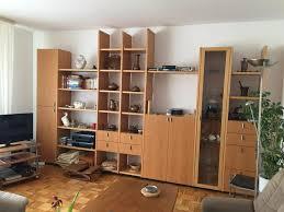 hülsta wohnzimmerwand wohnwand massivholz zeitlos unikat