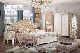 doppel bett betten schlafzimmer komplett set garnitur barock rokoko stil neu 901