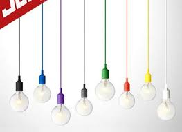 color cord pendant light with cords single bulb and 10 lighting