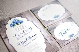 Wedding Invite RSVP Card Table Number