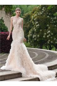 Sheath Column Organza Court Train Luxury Wedding Dresses Brands Sale