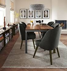 Parsons Dining Table With Cora Chairs On Room And Board