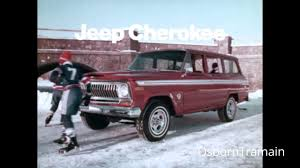 1976 AMC Jeep Cherokee 4 Door Wagon Commercial - Hockey Mom - YouTube