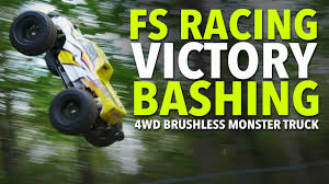 FS Racing Victory Bashing - 4WD Brushless RC Monster Truck | My RC ... Top10bshlessrctrucks Choosing A Brushless Motor For Your Rc Car Youtube Bashing With Two Jlb Racing Cheetah Monster Trucks Outcast Blx 6s 18 Scale 4wd Electric Offroad Stunt Lipo Ready To Run 24 Ghz Channel 80 Kmh High Speed Buggy 1 10 Black Esc 4x4 Off Road Cars Truck 15 Scale Brushless 8s Lipo Rc Car Video Of Car Splash Water And Emracing Tyrant Truck Speed Runs Top Best Brushless Trucks