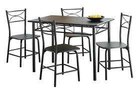 Beautiful Manificent Dining Room Tables Walmart Mainstays Metal Set Walmartca