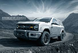 FordBronco 4-door (Jeep Wrangler Unlimited Rival) Rendered | Cars ...