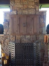 Brilliant Outdoor Tv Cabinets Throughout Cabinet Houzz Idea 5