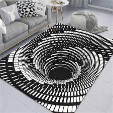 3d whirlpool illusion teppich nicht slip teppich küche teppich moderne wohnzimmer boden matte gedruckt mesh boden dekorative matte
