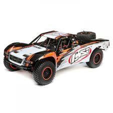 Losi Baja Rey: 1/10th 4wd Desert Truck Brushless BND | TowerHobbies.com