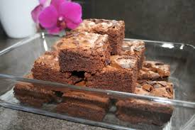brownie backmischung aufpeppen bester schmummelkuchen