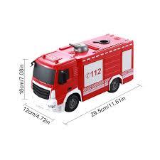 100 Toy Moving Truck 126 Remote Control Water Spray Fire E572 001 Remote Control
