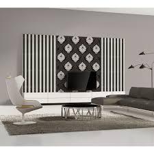a s création vliestapete bling bling ornament schwarz weiß