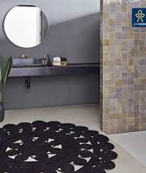 boho badteppich mit einer fransigen sonne teppiche liv