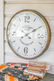 Best 25+ Large Clock Ideas On Pinterest | Large Clocks For Walls ... Amazoncom Outdoor Clocks Patio Lawn Garden Diy Sofa Table 2 Stools Painted With Coats Of Paint A Piece Sofa Barn Couch Amazing Pottery Sectional Sofas Couches 25 Unique Barn Hacks Ideas On Pinterest Decorating Awesome Mantel For Home Interior Design Is It Time For An Update Try Statementmaking Wall Clock Weve Bedroom Loft Beds Kids Expansive Bamboo Alarm Brown Stained Mahogany Wood Coffee Green Pattern Uniquehesdiyroomdecorpotterybarndskitchen