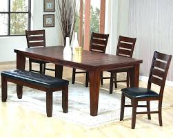 Dining Room Bench Cushions Large Size Of Tables Chairs Walnut With Benches Black Tufted Table Dinning