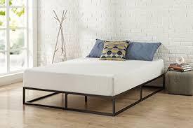 Modern Studio 10 Inch PLATFORMA Low Profile Mattress Bed Frame