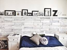 Whitewashed Wood Pallets Wall Via Ourhouseofpaint