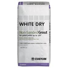 Tilelab Grout And Tile Sealer Sds by Custom Building Products White Dry 25 Lb Non Sanded Grout Wdg25