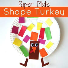 Paper Plate Shape Turkey Craft Toddler Approved Thanksgiving Art Projects For Preschoolers Free Arts And Crafts