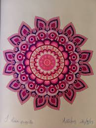 Purple Design By Jenean Morrison Coloured Artemis Mandala ColoringColouringArtemisArt DesignsBooksAfrican