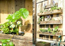 Hanging Pallet Garden Creating A Wood Herb Photography Life Fine Design